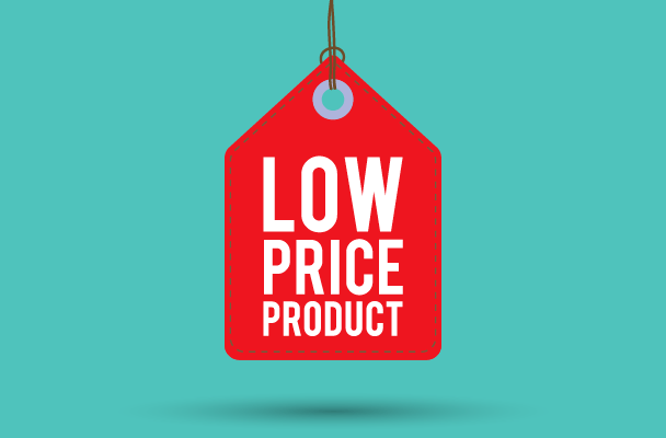 sell more cheaper products