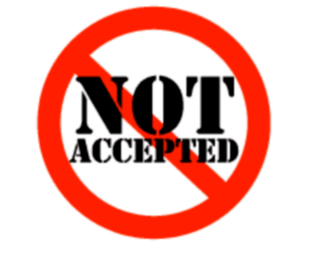 Not accepting guest posts