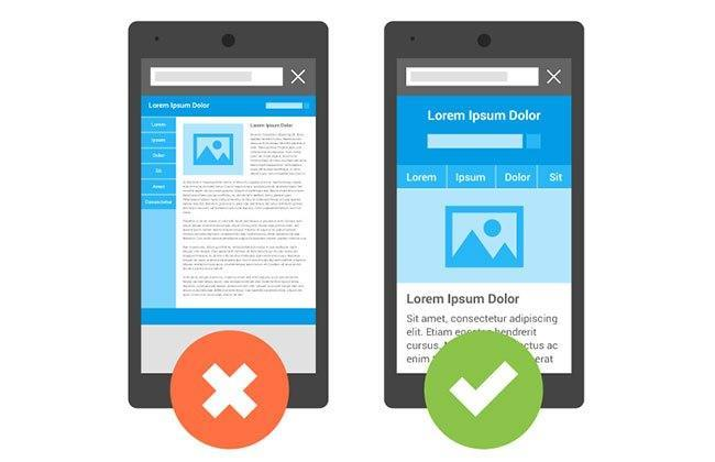 responsive vs unresponsive web design