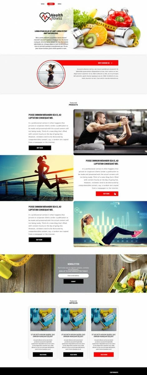 Amazon Affiliate Website Fitness Niche