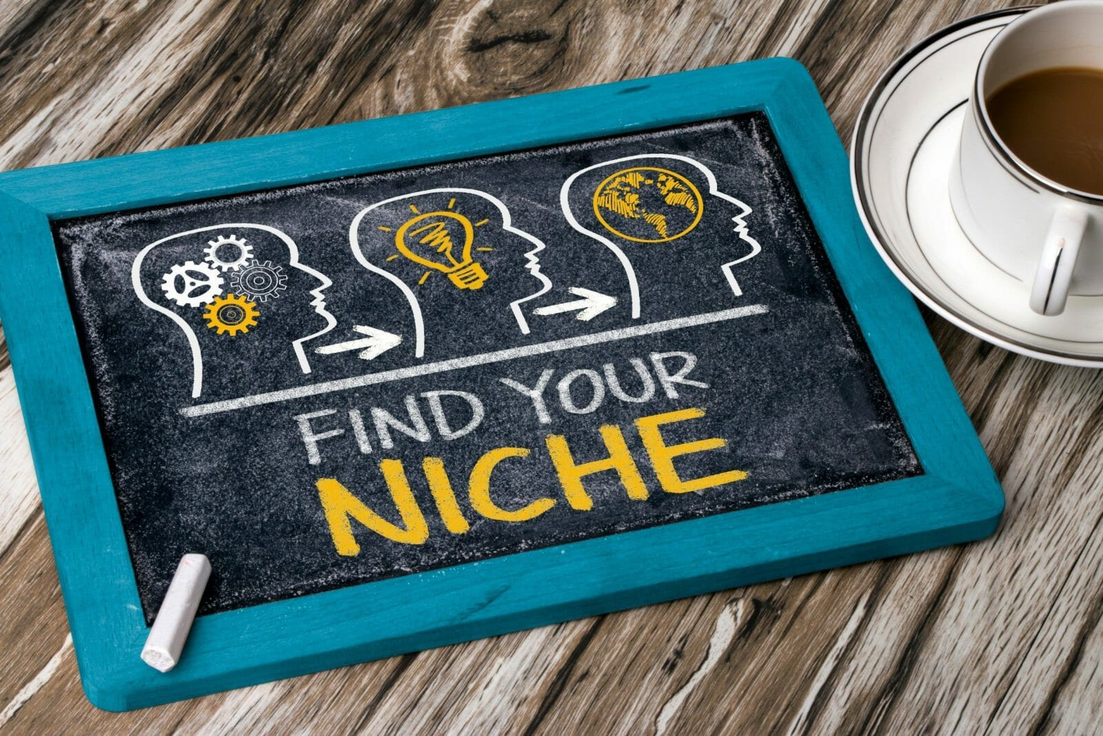find your niche concept on blackboard