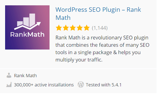 Rank Math SEO WordPress Plugin