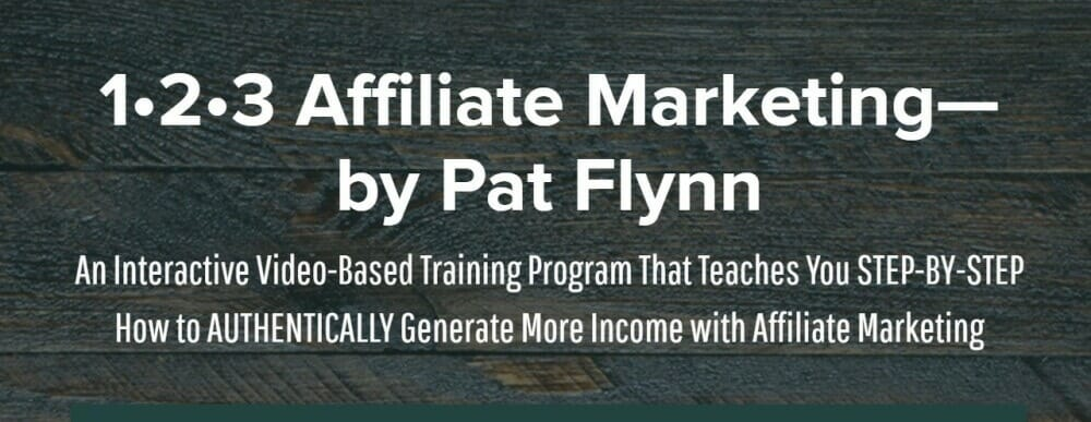 123 Affiliate Marketing Course
