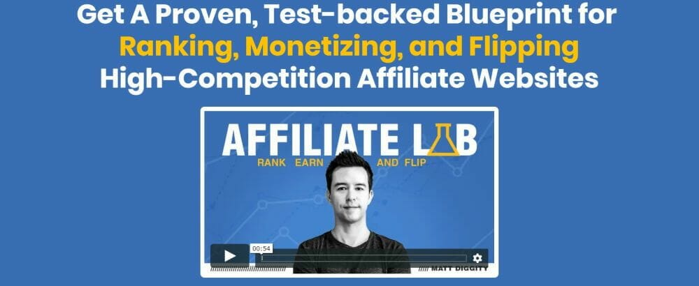 Affiliate Lab Affiliate Marketing Course