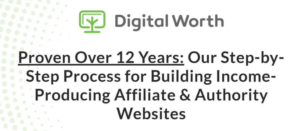 Digital Worth Academy course