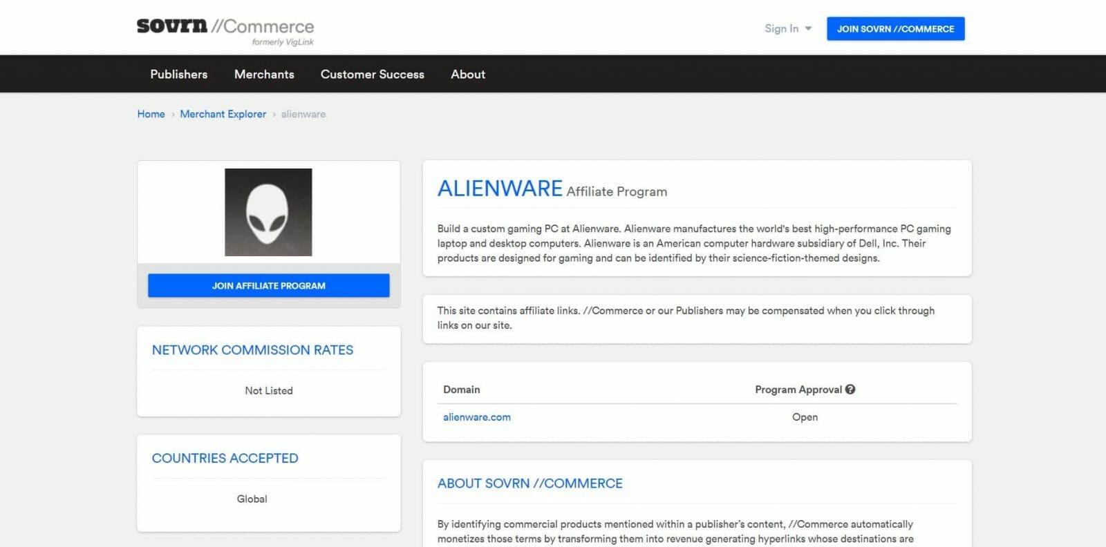 Alienware Affiliate Program