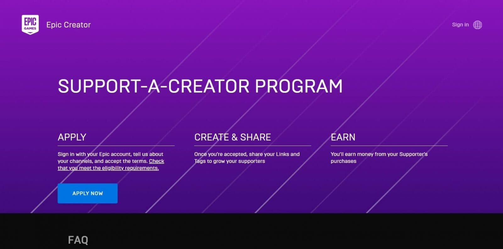 Epic Games Affiliate Program