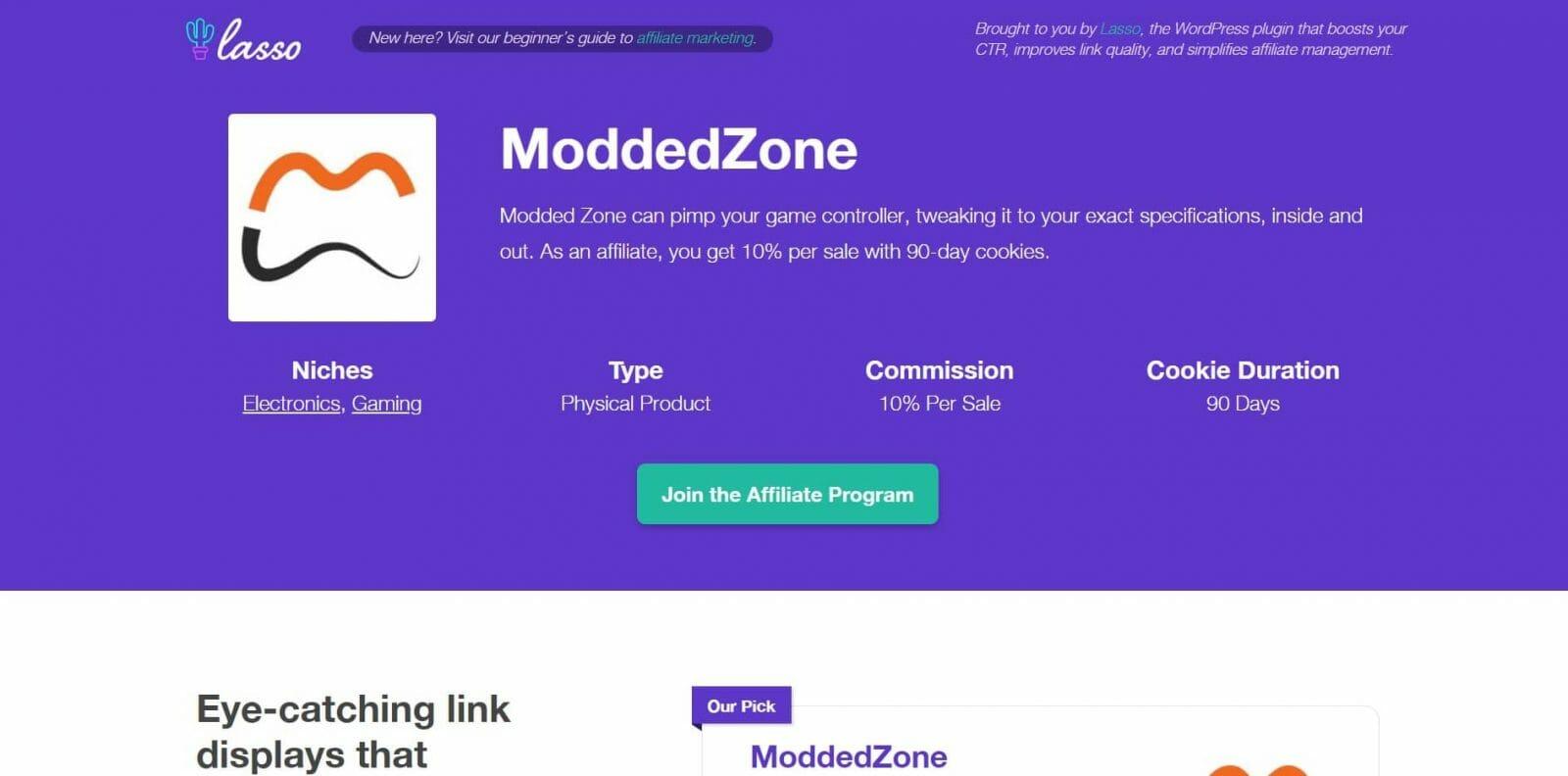 Modded Zone Gaming Affiliate Program