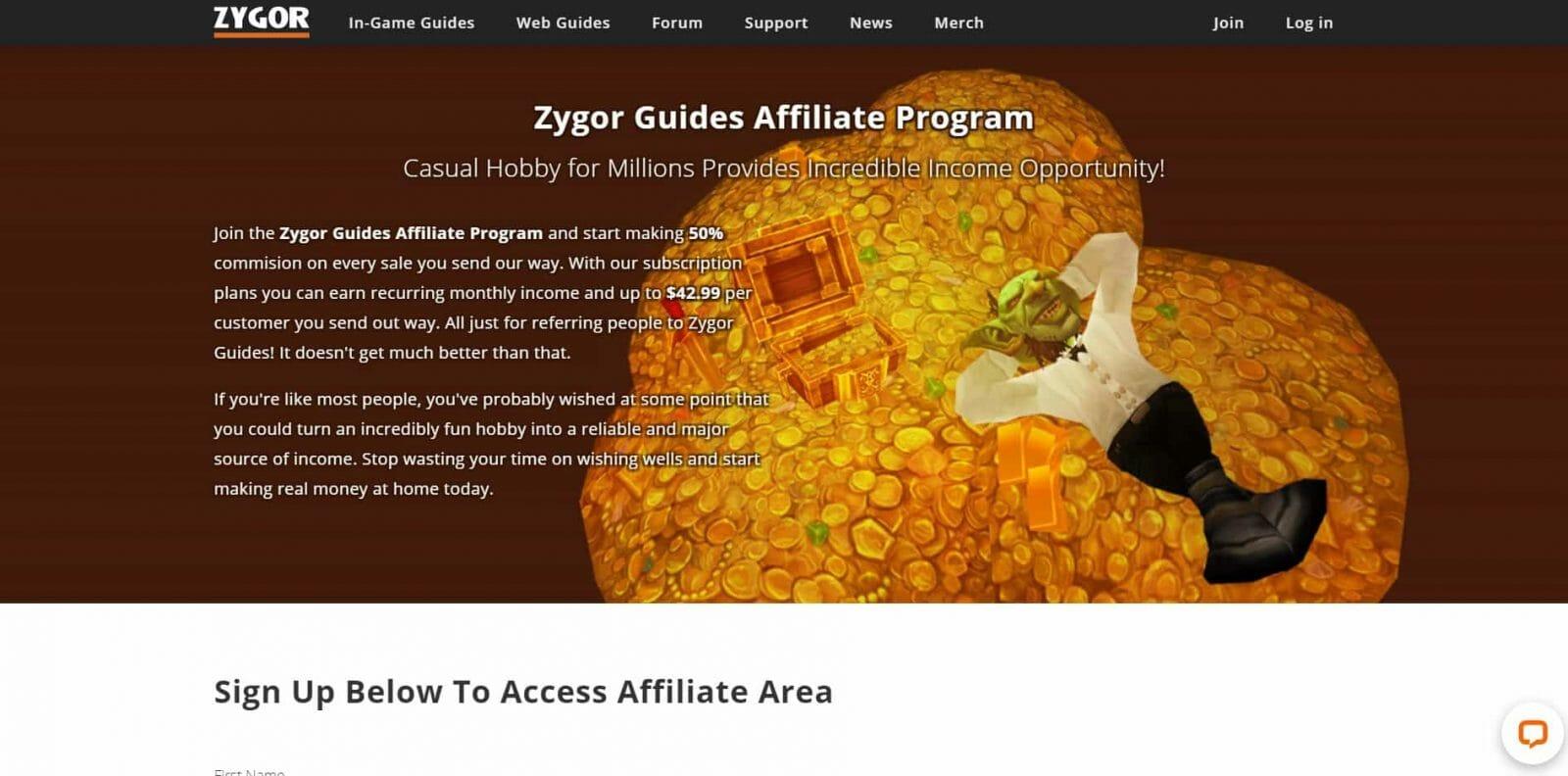 Zygor Guides Gaming Affiliate Program